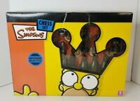 The Simpsons Chess Set Antique Metal 3D Characters