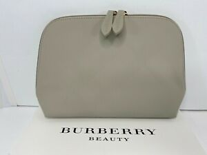 Burberry large pouch clutch cosmetic bag