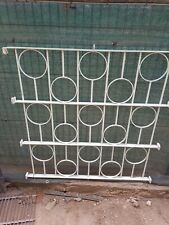 More details for white wrought iron railings/ sections