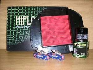 XL1000 Service Kit  XL 1000 VX-V2 1999-2002 Air Filter Oil Filter Spark Plugs