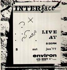 John Fischer, Perry Robinson, Ch.Tyler, Interface - rare privat US Avantgarde LP