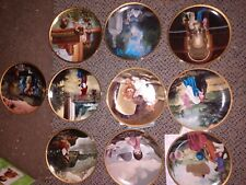 Lot of 10 Precious Moments Plates. Old Testament Collection