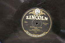 78 rpm Vinyl Lincoln Mighty Lik' A rose & To A Wild Rose 2163 & 2164