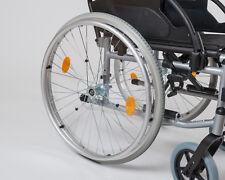 MPB 1 Paar Speichenschutz transparent für Rollstuhl 24 Zoll