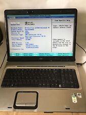 "HP Pavilion DV9000 DV9500 Laptop 17"" Screen 1GB RAM No HD/PSU Boots Spare Repair"