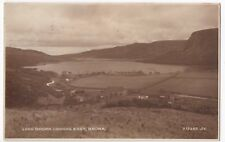 Sutherland, Lock Brora Looking East RP PPC, Local PMK 1931 By Valentines