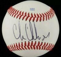 Chris Chelios Signed Baseball Bas