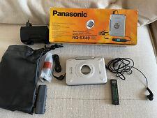 Panasonic Walkman RQ-SX40 Inkl. Zubehörset - Neu