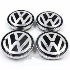 4pcs 60mm VW Wheel Rim Center Cap Beetle CC Caddy EOS Golf Jetta Passat Phaeton