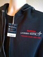 "MEDIUM LOCKHEED MARTIN RAYTHEON JACKET ""PRECISION GUIDED MUNITIONS""        shirt"