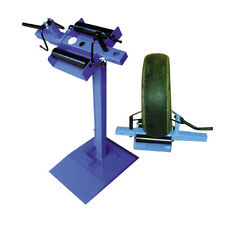 Tyre Spreader On Pedestal Floor Mount