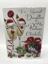 Special Daughter And Partner Christmas Card