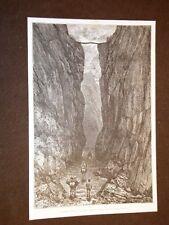 Bolivia nel 1889 La Gorge de Bartolo e Eglise de Tomina