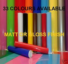 10 mtr x 610mm or A4 Self Adhesive Sticky Back Plastic Sign Vinyl