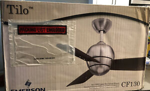 Tilo-3 Blade Ceiling Fan in Modern Style-30 Inches Wide by 9.5 Inches High CF130