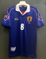 vintage soccer t shirts 1998 Japan National Home Jersey Nakata
