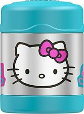 Hello Kitty Thermos 10 Ounce Funtainer Food Jar, Blue/Purple/Pink
