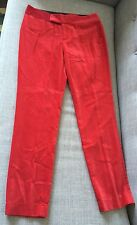 NWOT RALPH LAUREN RUGBY RED VELVET PANTS ~ SIZE 4