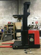 2012 Raymond Forklift Order Picker 3000lb Cap 268 Lift 42 Fork Withbatteryampchgr