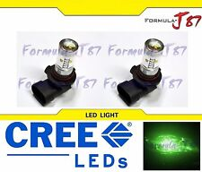 CREE LED 30W 9006 HB4 Green Two Bulbs Fog Light Replacement Show Use Off Road OE