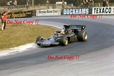 Ronnie Peterson JPS Lotus 72E F1 Race of Champions 1973 Photograph 2