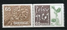 SVEZIA SWEDEN 1976 SEED TESTING CENT/SCIENCE/AGRICULTURE/WHEAT/CORNFLOWER/PLANTS