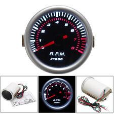 2'' 52mm Universal Car Digital LED Tachometer Tacho Tester Gauge Meter RPM USA