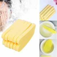 12Pcs Face Cleansing Pad Compressed Facial Cleaning Wash Puff Sponge Stick