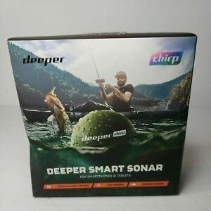Deeper DP3H30S10 Chirp GPS Wi-fi Wireless Smart Sonar Fish Finder