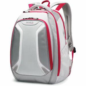 "NEW Samsonite 48232-2846 Viz Air Backpack fits 15.6"" Laptop Silver/Ultra Pink"