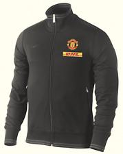 Nike Herren Sweater Sweat Tracktop Gr.M Manchester United Schwarz 90623