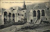 Tanger Ṭanǧa Marokko Afrika AK ~1910 Alcazaba Tesoro y Cuerpo de Guardia Stadt