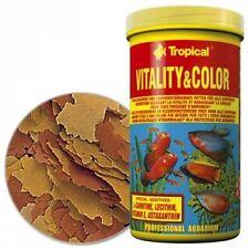 Tropical Vitality color flakes escamas de pescado forraje 1000 ml