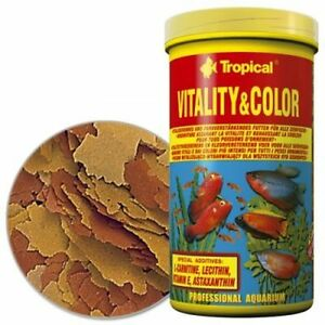 Tropical Vitality Color Flakes Flocken Fischfutter 1000 ml