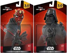 NEW Star Wars Darth Vader & Maul Disney Infinity 3.0 Figures Wii U Xbox One PS4