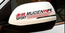 2x Car sticker mirror  Mugen RR