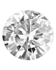 Loose Round Forever Classic 9mm Moissanite 3 Ct Diamond With Certificate