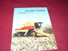 New Holland TR86 TR96 Combine Dealer's Brochure 31008631-3-85