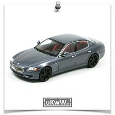 Minichamps 1/43 - Maserati Quattroporte S 2009 gris foncé métallisé