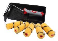 """PRODEC mini roller kit 4"""" pouces/100mm peinture plateau, cadre et 5 x recharges (par 017)"""