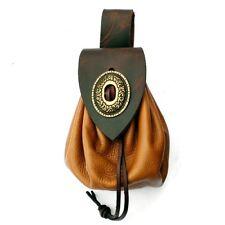 Mittelalterliche Geldkatze - Beuteltasche, Tasche, Leder, Mittelalter, LARP