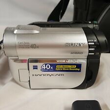 Sony DCR-DVD610 DVD Handycam Camcorder Carl Zeiss 40x Optical Zoom Touch Screen