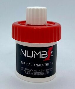 Topical anaesthetic numbing gel for Tattoo 10g