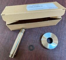 """Klxhome brass 3"""" Rain Ceiling Mount Shower Arm, Brushed Nickel (new, not used)"""