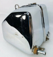 HARLEY FXR CHROME OIL TANK BAG FXRT FXRP FXRS FXRD