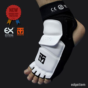MOOTO Extera Foot Protector S2 Brand New Taekwondo Guards KTA CE Approved
