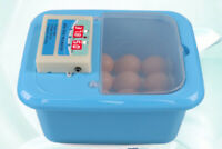 D07 16 Egg Incubator Fully Automatic Turning Poultry Chicken Quail Duck Goose O