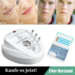3 IN 1 Diamond Dermabrasion Maschine Microdermabrasion Gesichtspflege Gerät DE