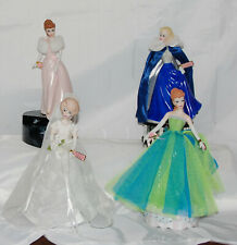 Enseco Barbie Music Box Lot of 4 Nice & Work