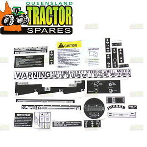 International 374,574 and 674 Tractor Operator Station Decal Set